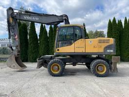 wheeled excavator Volvo EW 180 C 2007