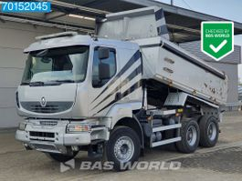 tipper truck Renault Kerax 520 6X4 Intarder Big-Axle Steelsuspension 11m3 Euro 5 2012