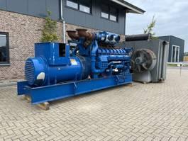 generator Perkins 4016 -TWG2 Leroy Somer 1875 kVA generatorset as New ! 1995