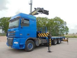 platform truck DAF AK 48 WS 8X2 TRIPLE 1996