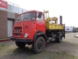 tipper truck DAF FAV1600DD358 4X4 1966