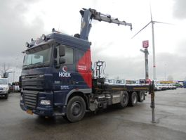 container truck DAF XF 105 FAK 8X2 2008