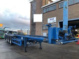 container chassis semi trailer Langendorf 40 ft kip  chassis 1995