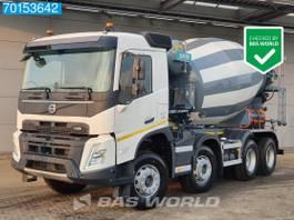 concrete mixer truck Volvo FMX 420 8X4 NEW! Steelsuspension 9m3 Euro 6 2021