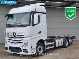 swap body truck Mercedes-Benz Actros 2542 6X2 Retarder Liftachse ACC 2x Tanks Euro 6 2021