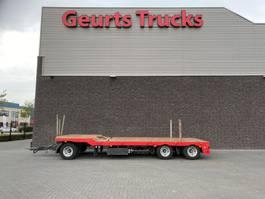 semi lowloader trailer Floor FLA-10-181 3 ASSIGE SEMI AANHANGER 1X UITSCHUIFBAAR 1995