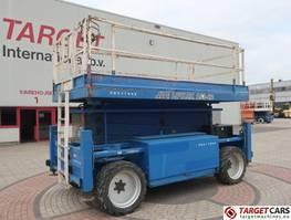 scissor lift wheeld JLG LIFTLUX 153-22 DIESEL 4X4 SCISSOR WORK LIFT 1730CM 2008