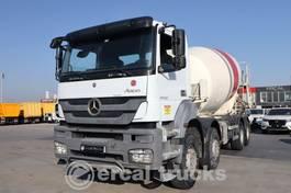 concrete mixer truck Mercedes-Benz 2016 AXOR 4140/AC EURO 5 8X4 CONCRETE MIXER 2016
