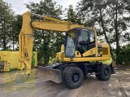 wheeled excavator Komatsu PW160-11 2019