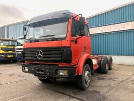 chassis cab truck Mercedes-Benz SK 2544 2544K 6x4 FULL STEEL CHASSIS (MANUAL GEARBOX / STEEL SUSPENSION / REDUCT... 1993