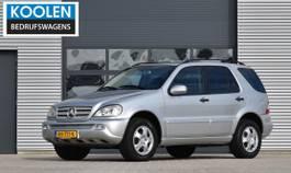 suv car Mercedes-Benz 270 CDI Special Edition ML 2001