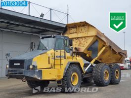 wheel dump truck Komatsu HM400-2 90% TYRES - TAIL GATE - FROM FIRST OWNER 2007