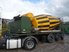 concrete mixer semi trailer Bulthuis 15CUUB