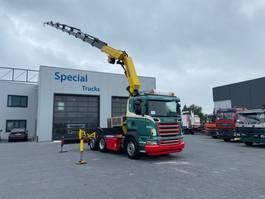crane truck Scania R420 6x2 + Palfinger PK44002 G + Winch 2006