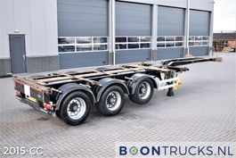 container chassis semi trailer Pacton T3-010 | 2x20-30-40-45ft HC * 3 x EXTENDABLE * APK 03-2022 2008