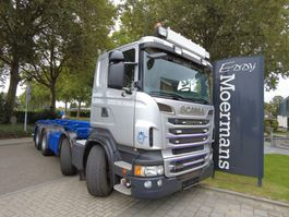 container truck Scania R500 V8 R500 With Hubreduction 2013