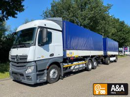 tilt truck Mercedes-Benz Actros 2551 6X2 RETARDER BDF LIFTAXLE + ANH. KRONE 2 -AXLE EURO 6 2011