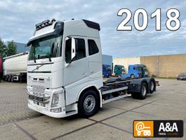 chassis cab truck Volvo FH 500 6x2 VEB+ Chassis Truck 2018 EURO 6 2018