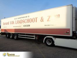 refrigerated semi trailer Chereau C38B + 3 AXLE + Carrier Vector 1850 + meat hooks 2003
