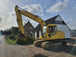 crawler excavator Case cx130, 06, 15000 hours, Belgium 2006