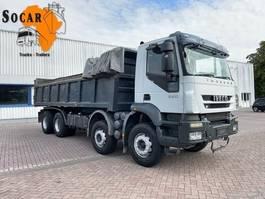 tipper truck Iveco Trakker 360 340T36 8x4 Automatic euro 4 2007