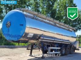 tank semi trailer semi trailer Magyar SR 38 F2 3 axles 28.000 Ltr / Food / 1 Comp / 1994