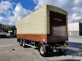 sliding curtain trailer Fruehauf 3 assen - smb luchtgeveerd - goede staat