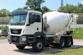 Betonmischer-LKW MAN 33.430 6x6 / EuromixMTP EM 7m³ EURO 6d