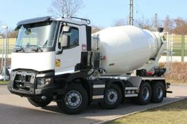 Betonmischer-LKW Renault 430 8x4 / Euro6d EuroMix MTP 9m³ SL