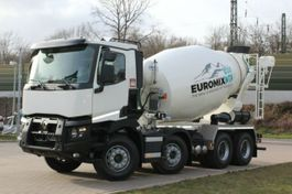 Betonmischer-LKW Renault C480 8x4 / EuroMix MTP 9m³ L