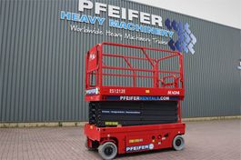 scissor lift wheeld Magni ES1212E Valid inspection, *Guarantee! Electric, 12 2019