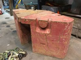 other equipment part Grove GMK 5100 side wings counterweight