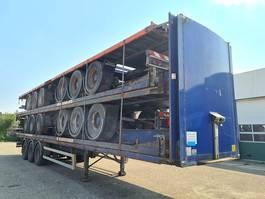 flatbed semi trailer Montracon 3 axle / air suspension / ROR 2007