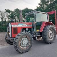 farm tractor Massey Ferguson 2640. 4WD 1986