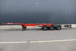 container chassis semi trailer Van Hool 45 ft Polyvalent Container Chassis 2015
