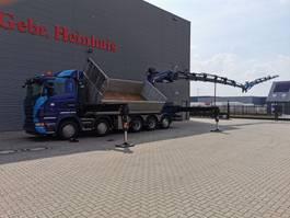 all terrain cranes Scania R560 V8 10x4 Euro 5 Palfinger PK 92002 SH 7 x Hydr. Jip 6 x Hydr. Winch 2 Seitenkipper! 2013