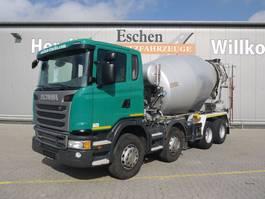 Betonmischer-LKW Scania G410 8x4, 9m³ Intermix 2015
