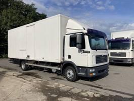box truck MAN TGL 12 BL-6 Cilinder-Koffer7M + LBW 2008