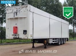 walking floor semi trailer Kraker CF-Z 6mm Floor Liftachse SAF Off-Road Achse 2014