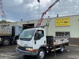 drop side truck Mitsubishi 3.9 Engine 24 Volt HMF 260 Crane Good Condition 1999