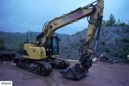crawler excavator Caterpillar 314D LCR w/ rotortilt & 3 buckets 2012