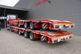 lowloader semi trailer Meusburger MPS-3 7 M Extand. Radmulden Lifaxle Mega New! 2021