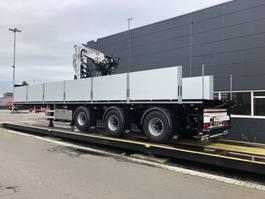 drop side semi trailer Pacton met Kennis kraan R16-3 2021