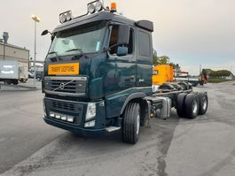 chassis cab truck Volvo FH 13 retarder 2014
