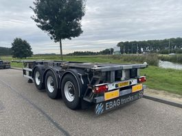 container chassis semi trailer Groenewegen 20-30FT Chassis / ADR / Alcoa / Lift-Axle / NL Trailer 2007