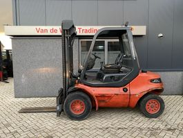 Gabelstapler Linde H45D Heftruck Linde H45D Triplo 520 freelift/Sideshift Diesel 1991