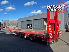 semi lowloader semi trailer KAESSBOHRER LOWBED,ramps steel floor 2021