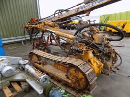 Earth drill Ingersoll Rand steenboormachine lucht aangedreven 1996
