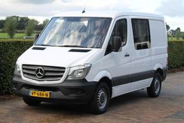 closed lcv Mercedes-Benz 310 CDI DUBBEL CABINE 7 PERSOONS 2016