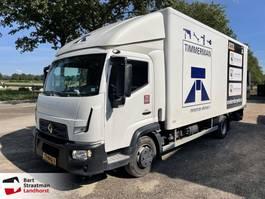 box truck Renault D EURO 6 laadklep en zijdeur 2016